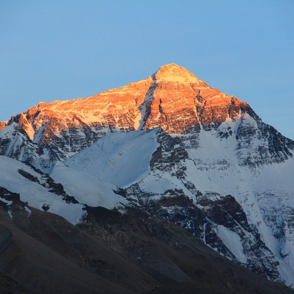 Mount Everest Sunset View